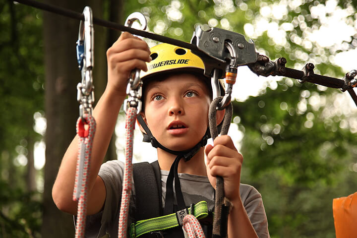 Example of outdoor adventure events